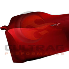 2005-2013 C6 Corvette Genuine GM Red Indoor Car Cover C6 Flag Logo 19158374