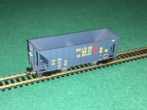 Walthers Goldline Golden West Service GVSR HO 2-Bay Hopper #629125