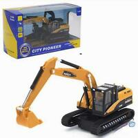 1:50 Scale Diecast Crawler Excavator Truck Vehicle Cars Model Toys Z ぱ