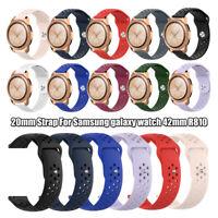 20mm Wrist Strap Silicone Watch Band Bracelet For Samsung Galaxy Watch 42mm