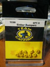 1 Pack Team Catfish Gear 9 Sinker Bumpers Bumperz Tcsb Protects Tied Knots