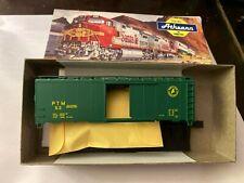 HO Portland Terminal # 53Dark Green Boxcar Kit Ahtearn/ Bev-Bel