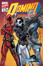 DOMINO 1 J SCOTT CAMPBELL EXCLUSIVE 90'S VARIANT DEADPOOL CABLE