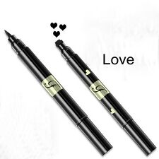 Double Head Waterproof Liquid Eyeliner Tattoo Stamp Eye Liner Pencil Makeup Tool