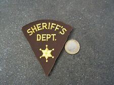 PATCH POLICE ECUSSON COLLECTION  USA   police  sheriffs