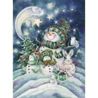 DIY Full Drill Diamond Painting Snowman Rabbit Stars Embroidery Cross Stitch