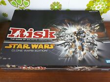 Risk Star Wars Clone Wars Edition Board Game Rare Collectible Complete (21)