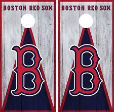 Boston Red Sox Cornhole Wrap MLB Game Board Skin Set Vinyl Decal CO375