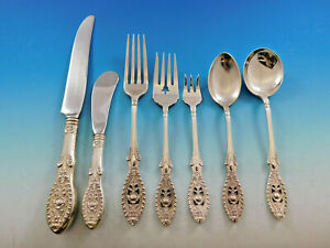 Valenciennes By Manchester Sterling Silver Casserole Spoon HHWS 11 12 Custom