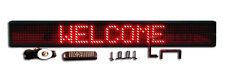 New! One Line Semioutdoor Ultra Bright Red LED Programmable Scrolling Sign 50""