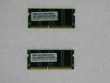 256MB  (2X128MB) MEMORY 16X64 PC100 8NS 3.3V SDRAM 144 PIN SO DIMM