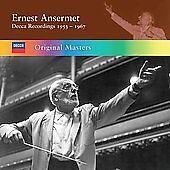 Ernest Ansermet: Decca Recordings 1953-1967 [Box Set] (CD, 6 Discs, Decca) NEW