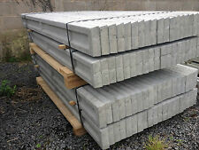 6ft (1.83m) x 6inch(150mm) recessed concrete gravel boards for slotted posts