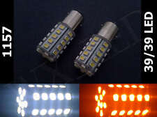 Type 1, 1157 2357 3497 39/39 Led White Amber Switch Back Dual Colors Turn Signal (Fits: Subaru)