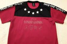 Mens Lavish Society Jersey Shirt Take Off Racing Red Black Stars Athletic 2Xl