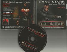GANG STARR & M.O.P. 1/2 & 1/2 Blade w/ CLEAN INSTRUMENTAL 4TRX CD single 1998