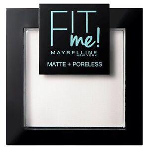 Maybelline Fit Me Matte & Poreless Pressed Powder - 90 TRANSLUCENT