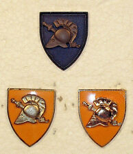 USMA US Military Academy West Point DUI Pin Insignia Crest Badge Set