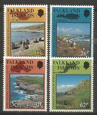 STAMPS-FALKLANDS. 1990. National Reserves & Sanctuaries Set. SG: 597/600. MNH.