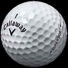 1 Dozen Callaway SuperSoft Mint Golf Balls AAAAA++