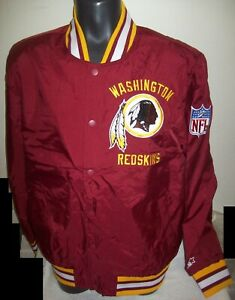 WASHINGTON REDSKINS Starter Full Zip Jacket SUMMER/FALL SMALL, XL