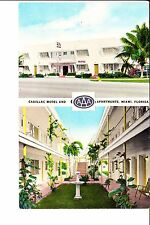 Miami, FL  Cadillac Motel & Apartments 1950s