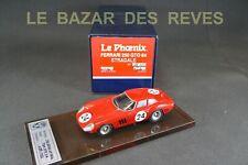 AMR LE PHOENIX. FERRARI 250 GTO. Le Mans 1964. + Boite.