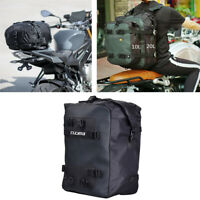 20L Motorcycle Tail Bag Storage Bag Shoulder Bag w/ Shoulder Straps Universal