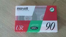 Cassette Tape Factory Sealed Maxell UR 90