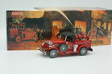 Matchbox Yesteryear Fire Engine Bomberos 1/43 - Ford Modelo Un Fuego Chief 1930