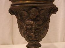 ANCIENNE LAMPE A PETROLE ANGE ANGELOT TOBELMANN & GRIMM ERFURT XIXème