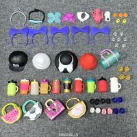 Lot 52Pcs outfit dress Bottle Shoes  Accessories LOL Surprise Doll Lil Pet Gifts