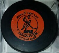 1974-75 WHA PHOENIX ROADRUNNERS vintage HOCKEY CCM OLD GAME PUCK SLUG CANADA