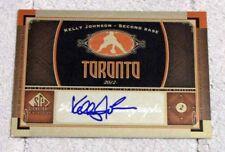 2012 Upper Deck SP Signature Baseball KELLY JOHNSON TOR-4 Auto Toronto Blue Jays
