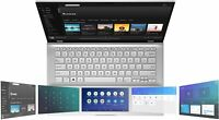 "New Asus Vivobook S432 14"" FHD i7 8565U 8GB RAM 512GB SSD Ir Camera W10 Silver"