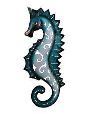 Wanddeko Seepferd Seepferdchen Wandbild Metall Deko Figur Fisch Wandschmuck