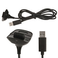 USB Charging Adapter Cable Cord for Microsoft Xbox 360 Wireless Game Controller