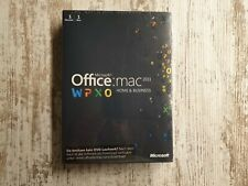 Microsoft Office 2011 Home & Business MAC DVD Deutsch / W6F-00030 / *NEU&OVP*
