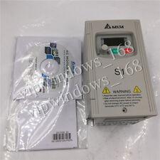 400W 0.5HP DELTA VFD Driver Inverter 1ph 220V to 3ph 0~240V 2.5A VFD004S21A CNC