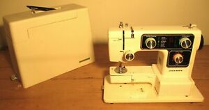 Vintage Janome Sewing machine comes with protective case pick up Surrey Hills