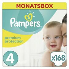 Pampers Premium Protection Gr.4 Windeln Monatsbox - 168 Stück