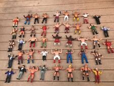 "WWF Vintage Titan LJN Rubber Wrestler 8"" Figure Lot of 41 HOGAN RODDY MCMAHON"