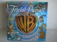 Trivial Pursuit Warner Bros Brothers Collector's Edition Board Game New Sealed