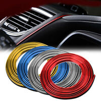5 Meter Car Auto Door Edge Gap Interior Decorative Strip Moulding Trim Accessory