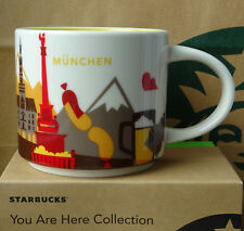 Starbucks City Mug Cup You are here Series YAH München Munich Germany 14oz NEW