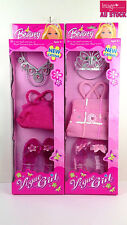 2 Sets New Catena Beauty Vogue Girl Pink Princess Pretend Fun Girls Toys