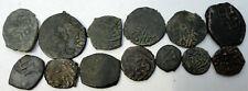 Islamic Kupfer Lot mit 13 Münzen