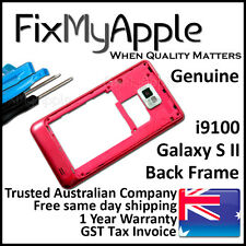 Samsung Galaxy S2 i9100 Red Back Housing Frame Camera Lens Cover Replacement