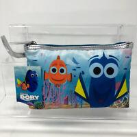 Disney Pixar Finding Dory Wristlet Make-Up Bag Cosmetic Purse Zipper Pouch
