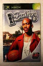 NBA Ballers - Instruction Manual (No Game, Microsoft Xbox, 2004)